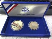 UNITED STATES Silver Coin UNITED STATES LIBERTY COINS 1886-1986